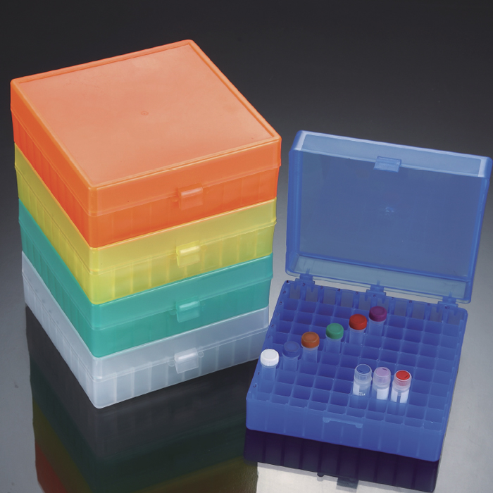 Compact Microtube Storage Box, 100-well